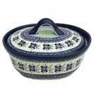 Pottery Avenue Dearest Friends Covered Stoneware Casserole Dish