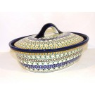 Pottery Avenue 1.5L ENCHANTING Covered Casserole Dish | ARTISAN