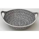 "Pottery Avenue 11.5"" Handled Stoneware Salad-Baker Bowl - 1814-941 Elegant Times"