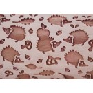"""Pottery Avenue 4.5"""" Embossing Rollilng Pin Patter - SEP-183 HEDGE HOG"""