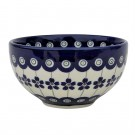 """Pottery Avenue 4.5"""" Stoneware Rice-All-Purpose Bowl - 1836-166A Flowering Peacock"""