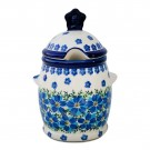 Pottery Avevenue 7.5-inch Stoneware Honey Pot - 1848-DU233 MOD FLORAL