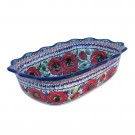 Pottery Avenue Bellissima Fancy Rim Stoneware Casserole | Serving Dish