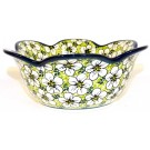 Polish Pottery BACOPA Tulip Serving Stoneware Bowl | UNIKAT