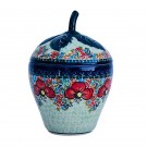 Pottery Avenue 9.5-inch Tall Stoneware Harvest Jar - 1873-296AR Champagne