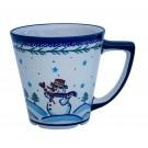Pottery Avenue 13.5oz Stoneware Mug1920-DU69 Frosty & Friends