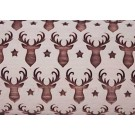 """Pottery Avenue and Wooden Corner brings you these wonderful 4.5"""" embossing rolling pins - SEP-222 TEXAS REINDEER"""