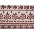 """Pottery Avenue and Wooden Corner brings you these wonderful 4.5"""" embossing rolling pins - SEP-227 HOLIDAY BAZZAR"""