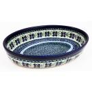 Pottery Avenue 11-inch Stoneware Oval Baker - 349-DU121 Dearest Friend