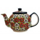Pottery Avenue 34-oz RED BACOPA Stoneware Teapot | UNIKAT