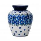 Pottery Avenue MOD FLORAL Stoneware Designer Vase - 789-DU233 MOD FLORAL