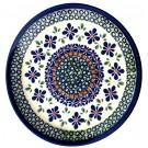 "Pottery Avenue 7.75"" SWEETIE PIE Stoneware Salad Plates   ARTISAN"