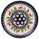 Pottery Avenue 6.5-inch Bread & Butter - Dessert Stoneware Plate - 818-992A Caribou Lodge