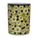 Pottery Avenue Red Stoneware Utensil Jar-Vase-Crock-Bottle Chiller - 832-346AR Blue Citrin