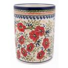 Pottery Avenue 7-inch Utensil Jar-Bottle Chiller-Crock-Vase 832-252EX Love Blossoms