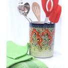 Pottery Avenue Utensil Jar-Bottle Chiller - 832-296AR CHAMPAGNE