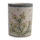 """Pottery Avenue 7"""" Stoneware Utensil-Jar-Bottle Chiller - 832- DU201 Wish"""