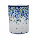 Pottery Avenue Stoneware Utensil Jar - 832-DU207 True Blues