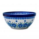 Pottery Avenue MOD FLORAL 8-inch Stoneware Bowl- 851-DU233