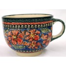 Pottery Avenue Cherished Friends 17oz Stoneware Cappuccino-Soup Cup