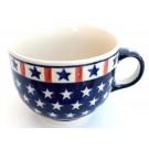 Pottery Avenue Americana 17oz Cappuccino-Soup Stoneware Cup