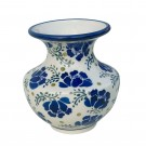 "Pottery Avenue Stoneware 4"" Vase - 929-DU228 MEANDERING"