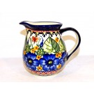 Pottery Avenue 1.7-Cup Stoneware Pitcher - 950-208AR Strawberry Butterfly