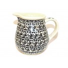 Polish Pottery ELEGANT TIMES Small Pitcher 1.7 Cup | CLASSICS