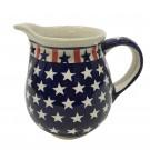 Pottery Avenue 28oz Stoneware Pitcher - 951-927 Americana