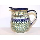 Polish Pottery 3.6 Cup ENCHANTING Pitcher | ARTISAN