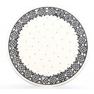 "Pottery Avenue 11"" Stoneware Dinner Plate -1014-957 Trendy Times"