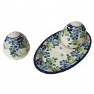 Pottery Avenue Salt & Pepper Set 962961-DU207 True Blues