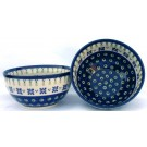 Pottery Avenue Drops of Joy 2 cup Stoneware Cereal Bowl