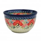 Polish Pottery Champagne 296AR  4-Cup Stoneware Mixing Bowl   UNIKAT
