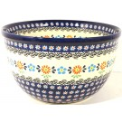 "Polish Pottery 8"" HERITAGE Mixing Bowl 