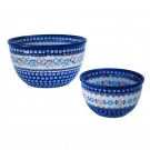 Pottery Avenue 2 Piece Mixing Bowl Set in Heritage 984-1145