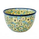 "Polish Stoneware 10"" Mixing Bowl, Citrine"