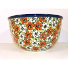 Pottery Avenue RED BACOPA 14-Cup Stoneware Mixing Bowl - 986-331AR