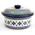 Polish Pottery 1L SWEETIE PIE Covered Casserole Dish | ARTISAN