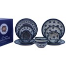 Pottery Avenue Sweetie Pie & Sweetheart 12 PC Designer Box Dinnerware Set