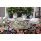 Pottery Avenue - 12-pc Designer Stoneware Dinnerware - 12-pc DU201 Wish