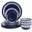 Pottery Avenue 12-pc Dinnerware Set Flurries Of Joy