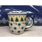 Polish Pottery 12-oz JINGLES Coffee Mug | CLASSIC