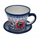 Pottery Avenue 8-oz Cup & Saucer EX-UNIKAT BELLISSIMA - 1802-1803-257EX