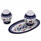 Pottery Avenue Caribou Lodge 3pc Salt and Pepper with Tray - 1284-961