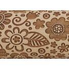 "Pottery Avenue Brings Wooden Corner's Embossed 10"" Rolling Pin - LEP-019-Large Boho Flower"