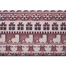 """Pottery Avenue 10"""" Embossing Rolling Pin - LEP-031 Holiday Sweater"""