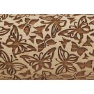 "Pottery Avenue Brings Wooden Corner's Embossed 10"" Rolling Pin - LEP-104-Butterfly"