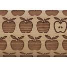 "Pottery Avenue Brings Wooden Corner's Embossed 10"" Rolling Pin - LEP-120-Apple Pie"