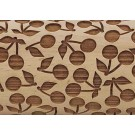 "Pottery Avenue Brings Wooden Corner's Embossed 10"" Rolling Pin - LEP-121-Cherry Pie"